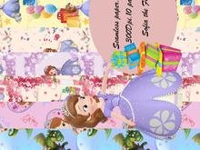 Seamless paper Sofia the First