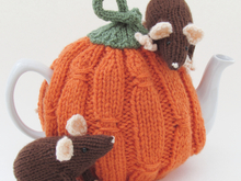 Harvest Pumpkin Tea Cosy