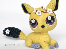 Amigurumi pattern for crochet chinchilla. Crochet cat toy pattern