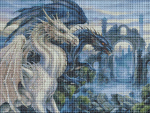 Dragons cross stitch