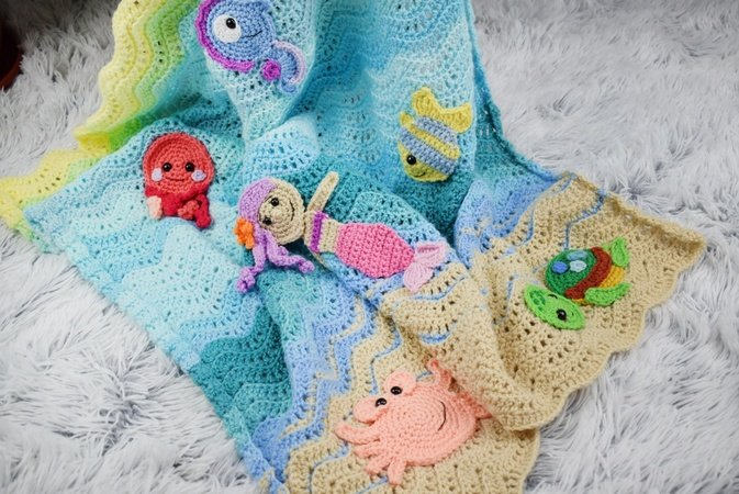 8 Amigurumi Seahorse Free Crochet Pattern and Paid - Page 2 of 2 | 450x673