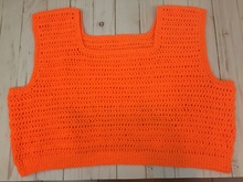 crochet belly top pattern