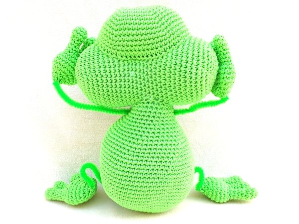 "Crochet Pattern "" Alfons"" The Frog"