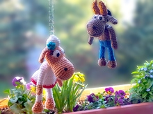 Edda and Erik Sheep, amigurumi crochet, crochet sheep
