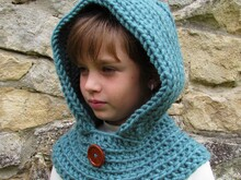 cowl crocheted pattern