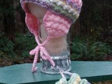 Enchanting Baby Cap and Mitts - PB-303