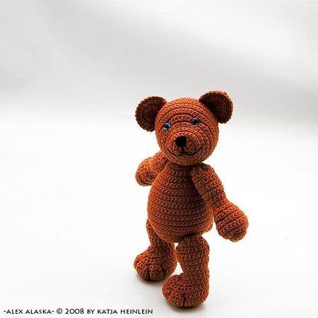 Crochet bear amigurumi pattern | Amiguroom Toys | 450x450