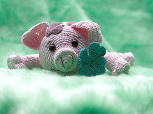 Amigurumi pig talisman animal free crochet pattern tutorial