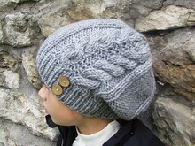 Knitting hat pattern
