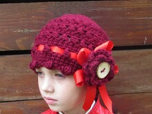 Hat crochet pattern warm cap