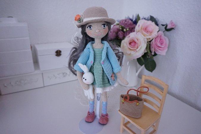 English Tilda Matilda Free Amigurumi Pattern   Amigurumi   Crochet   450x676