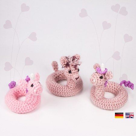 Fluffy Unicorn Free Crochet Pattern | 450x450