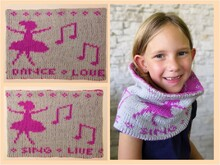 "Strickanleitung Loop ""Dancing Ballerina"" in Doubleface (One Size)"