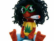 amigurumi pattern Dudy Dude Amigurumi Rasta Jamaica tutorial file man doll crochet figure ebook