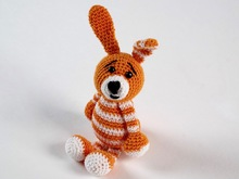 Crochet Pattern Key Ring Bunny