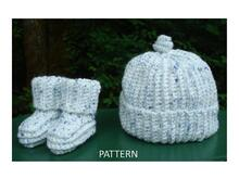 Pattern Simply Single Crochet Baby Set - PB-302