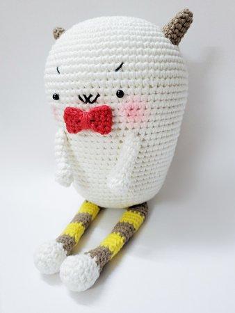 Mel the Monster and Friends Amigurumi Crochet Pattern | 450x338
