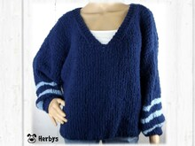 "Strickanleitung: Oversize - Pulli ""Le Chic"""