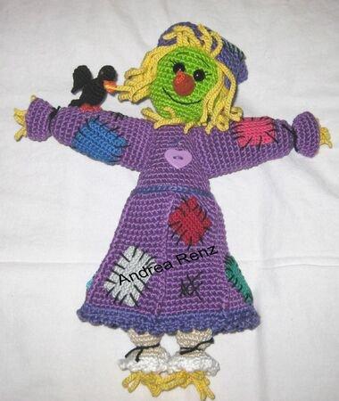 bat Flediba, PDF crochet pattern, animal, tutorial, ebook, amigurumi | 450x380