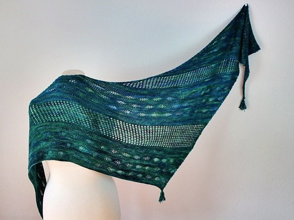 "Strickanleitung Tuch ""Under the Sea"""