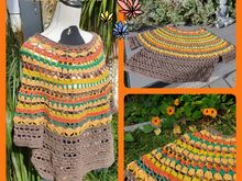 Indian Summer Poncho Pulli