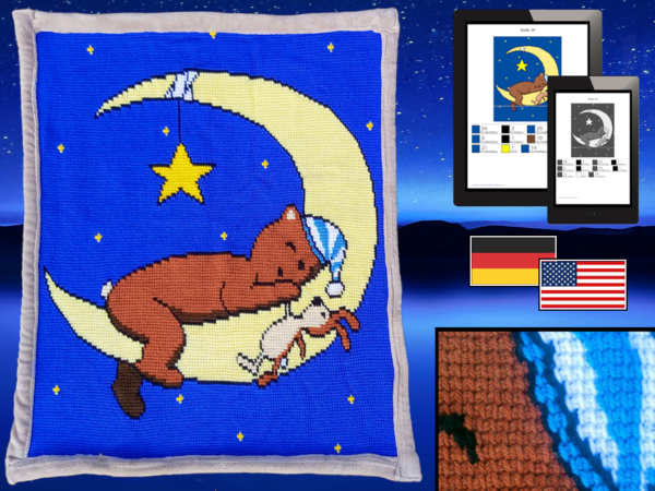 Childrens Blanket - Timmy the Moonbear