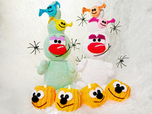 Trick or Treat - Crochet Pattern from Diana´s kleiner Häkelshop
