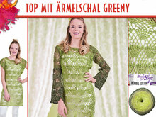 TOP MIT ÄRMELSCHAL GREENY