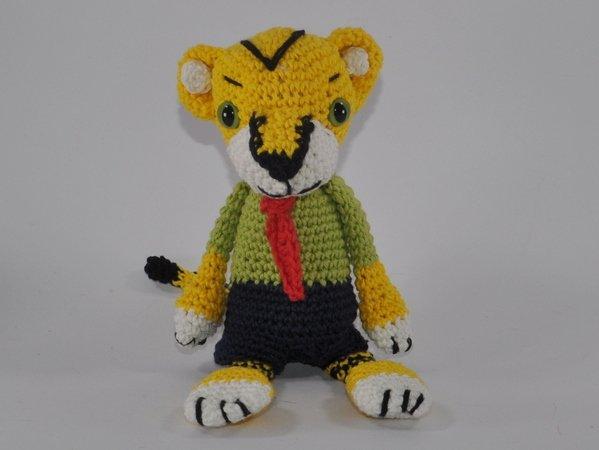 Romeo the Tiger amigurumi pattern - Amigurumi Today   450x599