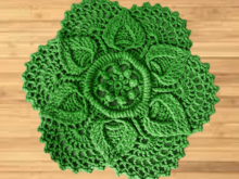 Crochet Lotus Carpet