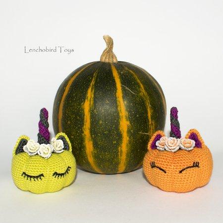 Calabaza en crochet - Halloween calabaza de BerlinCrochet - YouTube   450x450