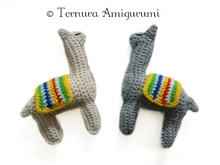 Häkelanleitung alpaka- lama english- deutsch- dutch ternura amigurumi