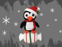 Penguin - Candy Christmas decoration Pattern