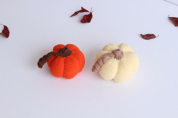 Decorative Pumpkins PDF pattern - Halloween