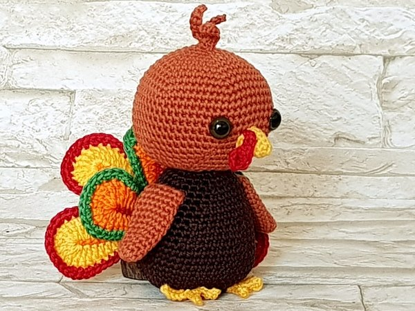 15 Free Crochet Turkey Patterns for Thanksgiving   AllFreeCrochet.com   450x600