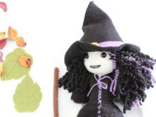 Dark Witch Doll Pattern