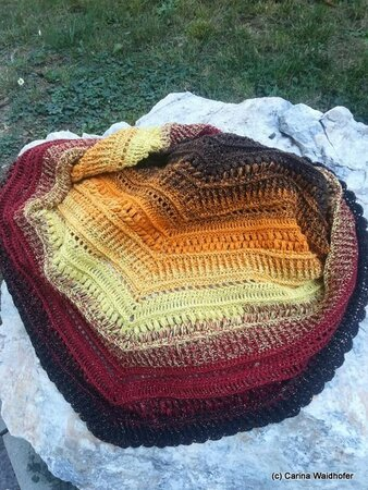 winter day shawl