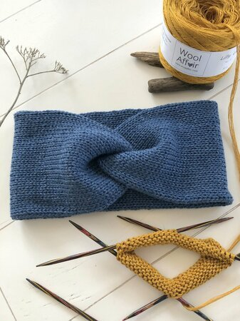Knitting Pattern – Headband _LIV_ - quick & easy – no.226E