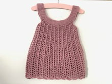 Crochet Baby dress Carola