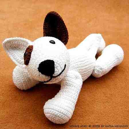 Amigurumi Dog Crochet Pattern | Supergurumi | 450x450
