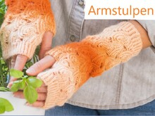 Armstulpen So Nice Stricken