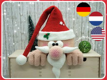 crochet pattern Santa Claus