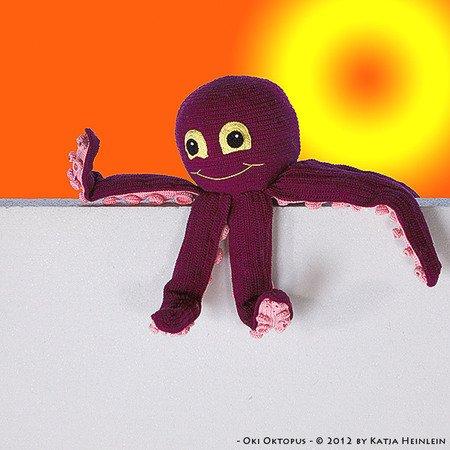 How To Crochet a Mini Amigurumi Octopus - DIY Crafts Tutorial ... | 450x450