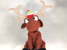 "Crochet Pattern ""Sören"" The Reindeer"
