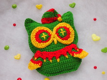 Christmas Elf Owl