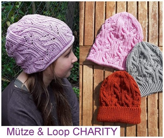 Mützen Trio & Loop CHARITY
