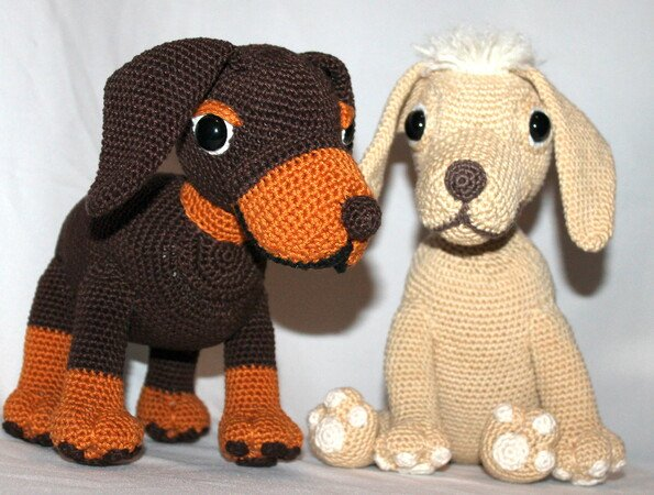 Ravelry: Boodles Dachshund FREE pattern by Laura Sutcliffe ... | 450x595