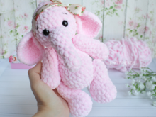 Crochet pattern Amigurumi plush elephant