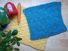 Dishcloths, Washcloths, 2 Knitting Pattern