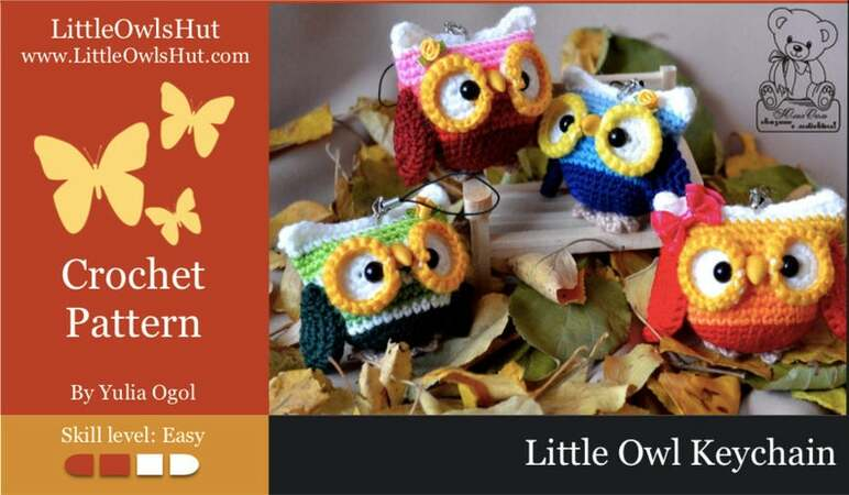Crochet Amigurumi Owl [FREE Crochet Pattern] - The Crochet Space | 450x772
